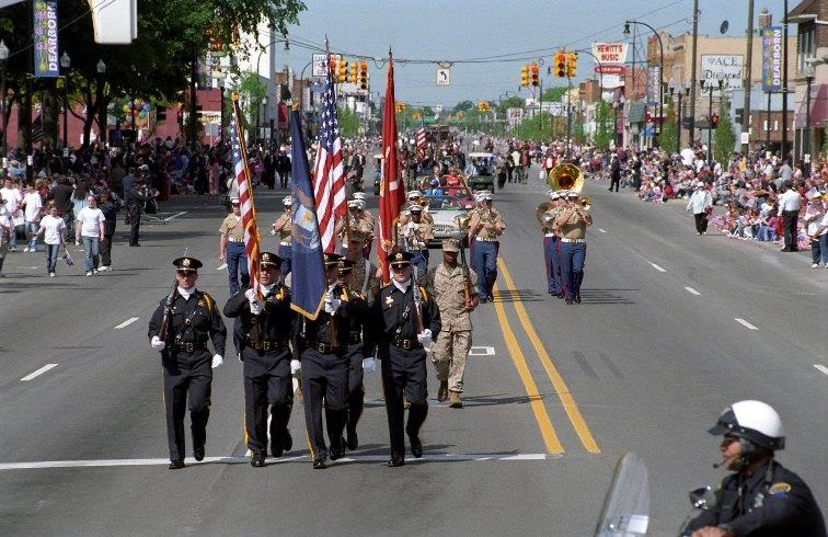 memorial day parade image